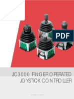 JC3000 Single and Dual Axis Fingertip Joystick_150