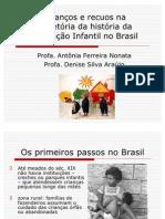 avanços e reuos da educação Infanti no Brasill