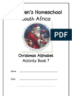 Christmas Alphabet Activity Book, Donnette E Davis, St Aiden's Homeschool