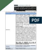 Ficha Convocatoria 999312-001 Como Profesional Mental Id Ad rial Segundo Semestre de 2011