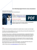 ICE Marketing SUPPORT Pack for Venues