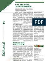 Editorial - La U.D.C.A en la Era de la Sociedad de la Información