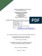 Conocimiento Desarrollo Tecnologico Capital Intelectual 2008