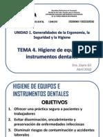 Clase 4. Higiene de Equipos e Instrumentos