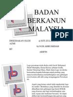 Badan Berkanun Di Malaysia