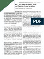 Sokal & Sokal, Class E, IEEE JSSC Jun'75 p168-176