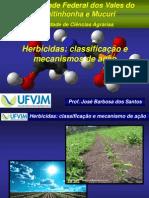 Mecanismo de Açao Herbecidas