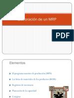 Elaboración de un MRP