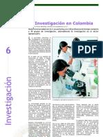 Investigación - La Investigación en Colombia