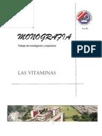 ....Las Vitaminas mi monografía