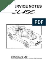 LotusEliseS1-ServiceManual