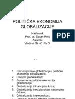 10352_politi%c8ka Ekonomija Globalizacije