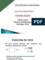 Funcion de Red
