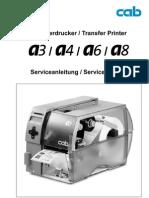 Service Manual A3 A4 A6 A8300