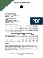June 2011 Revenue Estimate Letter