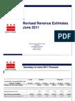 June 2011 Revenue Estimate Presentation