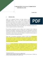 EL PROCEDIMIENTO DE IMPUGNACIÓN DE LOS ACTOS DE LA ADMINISTRACIÓN TRIBUTARIA EN EL PERÚ LOURDES CHAU