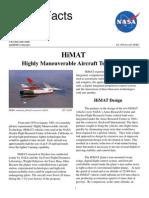 NASA Facts HiMAT Highly Maneuverable Aircraft Technology 1998