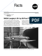 NASA Facts Langley's 30 by 60 Foot Tunnel