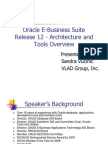 Sandra Vucinic - Oracle E-Business Suite Release 12 Architecture and Tools
