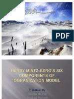 MINTZ BERG'S FIVE COMPONENTS OF OGRANIZATION MODEL(finalized) - remodified