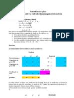 Metode Cantitative Si Calitative in Managementul Modern