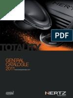 Hertz General Catalogue 2011