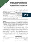 Asociacion Fluor y Clorhexidina