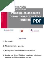 Ética de la función pública. Dificultades y perspectivas de su aplicación