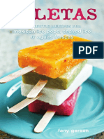 Recipes from Paletas by Fany Gerson
