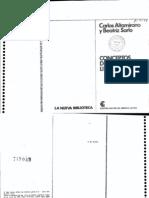 Altamirano, Carlos y Sarlo, Beatriz - Conceptos de sociología literaria