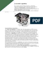 Características de un motor a gasolina