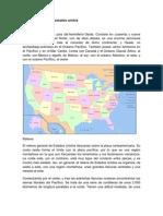 Medio geográfico de estados unidos