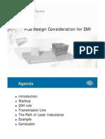 - Pcb Design Consideration for Emi