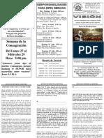 BOLETIN 211, EL SEÑOR DE LA HISTORIA