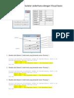 Membuat Kalkulator Sederhana Dengan Visual Basic