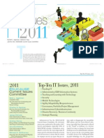 Educause Review - Top Ten Issues 2011
