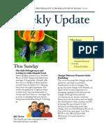 Weekly Update 2011.6.23