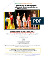 Legacy Casa Young Womens Summer Pgm Flyer