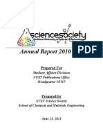 NUST Science Society - Annual Report 2010-11