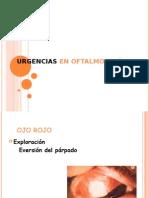 Urgencias en Oftalmología