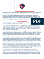 Yankee United FC Year in Review and a Look Ahead 2011/2012