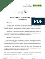 FINEP Prêmio Inovação 2011 Regulamento