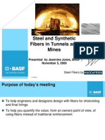 Steel and Synthetic Fibers in Tunnels and Mines - 110509