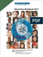 Bilingual Handbook 2011