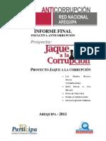 Informe Final Proyecto Jaque a la corrupción - Arequipa