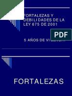FORTALEZASYDEBILIDADESDELALEY675 DE