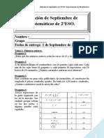 Relacion de Septiembre 2010-11 2ºESO