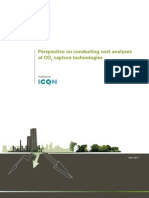Perspectives on Conducting Cost Analyses of CO2 Capture Technologies. ICO2N (April 2011)