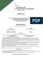 Bank United, FSB Form 10 K(Mar 31 2011)